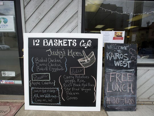 12 Baskets Cafe welcomes all who enter.