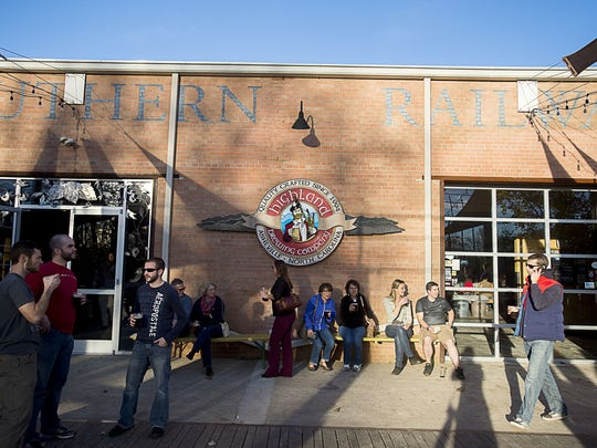 Hundreds flocked to Highland Brewing Company in 2015