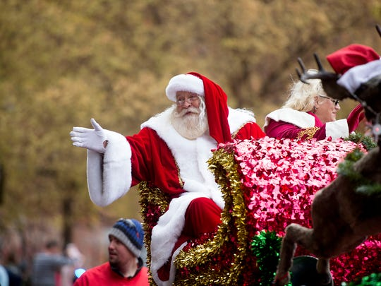 The Asheville Holiday Parade returns to downtown on Nov. 18.