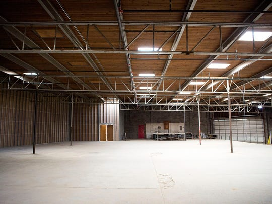 North Carolina Glass Company is currently underway in its plans to build this space, located on the corner of Riverside Drive and Broadway, into their new home.