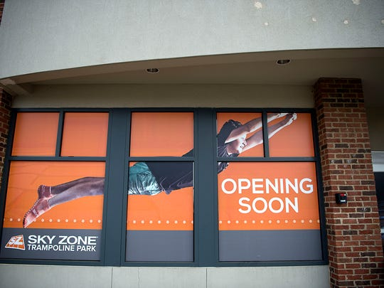 Sky Zone is a new trampoline park located off Hendersonville Road and scheduled to open February 2017.