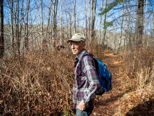 Dan Pittillo, a retired professor of botany at WCU,