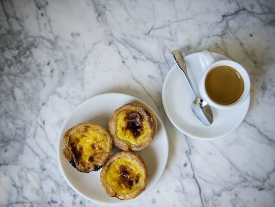 The traditional Portugese pastry nata is a simple yet