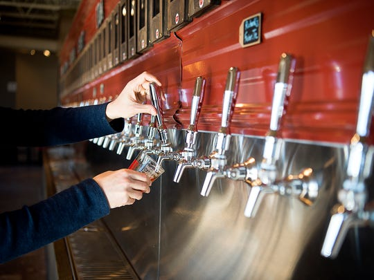 Pour Taproom, a self-service tasting room now open