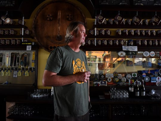 """I love the creativity of making beer and I love the happiness that people get when they try something new,"" said Pete Anderson, a former fourth-grade teacher at Liberty Magnet School in Sebastian. ""I was a full time teacher when we first opened the pub in 2014 and in 2015 I took a personal leave of absence for a year to dedicate my time fully to the brewery."" Anderson, along with his wife Lynn, are the owners of the Pareidolia Brewing Company in Sebastian."
