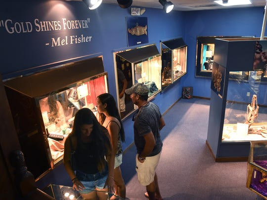 See the artifacts recovered from the 1715 Spanish Fleet and the Atocha ship wrecks that fill the Mel Fisher's Treasures Museum at 1322 US Highway 1 in Sebastian.