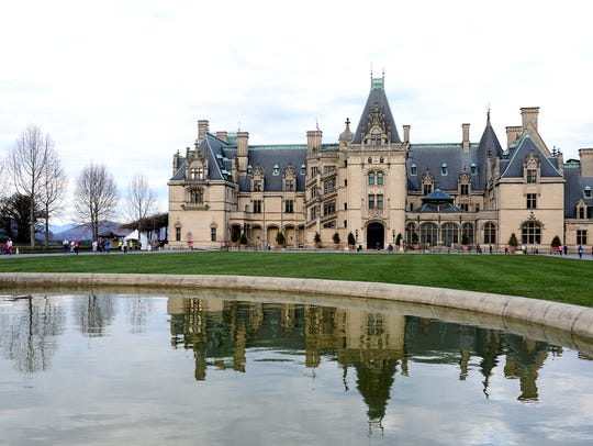 The Biltmore Estate came in at No. 14 out of 25 sites