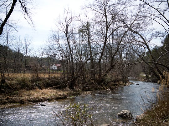 The Ivy River flows through Madison County and it supplies