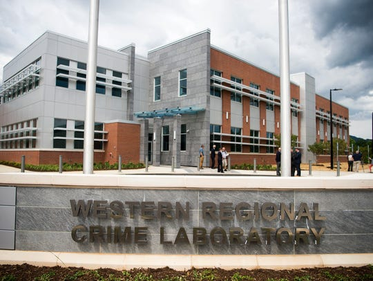 The Western Regional Crime Laboratory is twice the