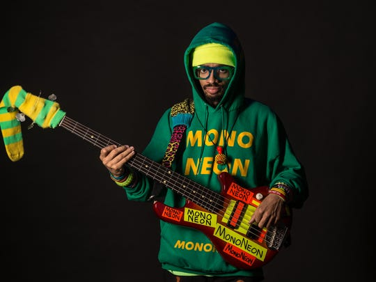 "Bassist MonoNeon will be part of a free ""Unapolgetic AF Show"" at Crosstown Theater on Saturday."