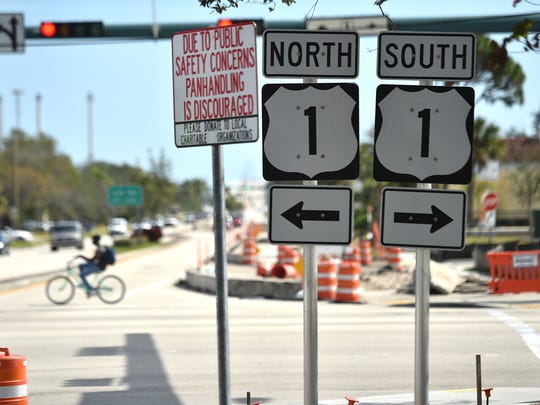 The City of Vero Beach has placed new signs along the