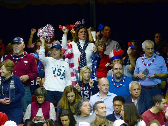 CoCo Vandeweghe defeated the Netherlands'  Richel Hogenkamp in a three-set match on day one of the 2018 Fed Cup at the U.S. Cellular Center on Saturday, Feb. 10, 2018. The United States will go into day two up 2-0 over the Netherlands.