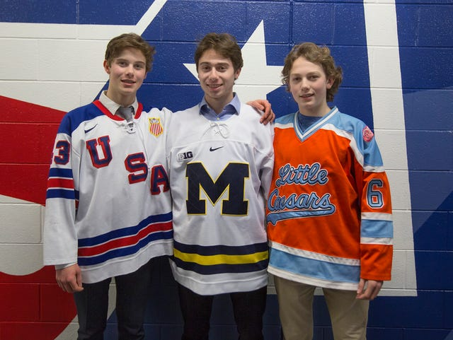 release date 2e80d 1246c Michigan hockey: Quinn and Jack Hughes could both play for ...