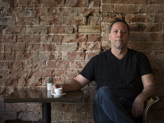 Damian Serafine is the owner of Serafina, a new coffee shop in downtown Phoenix.