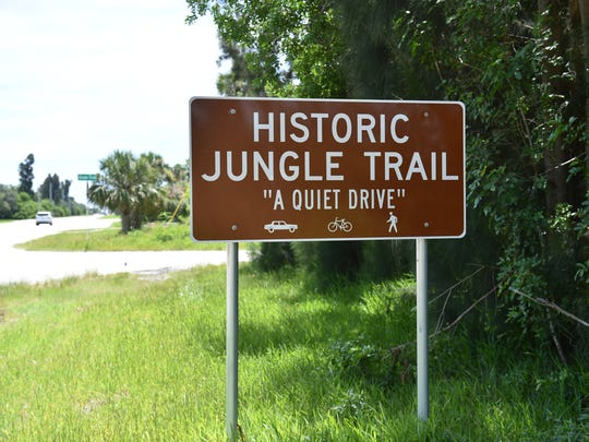 The Historic Jungle Trail, a bit of old Florida in Indian River County, the Jones Pier, the oldest pier in Indian River County, and Pelican Island, the first national wildlife refuge, all interconnected within this scenic road off A1A in northern Indian River County.
