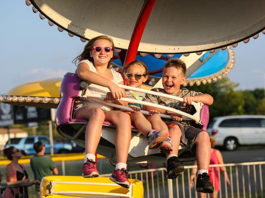 Rides and kids' activities are just a couple of the