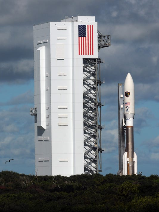Air Force satellite expected to launch early Wednesday