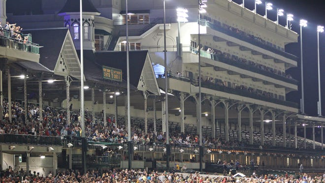 Downs After Dark will move indoors at Churchill Downs because of chilly temperatures forecast for this Friday.