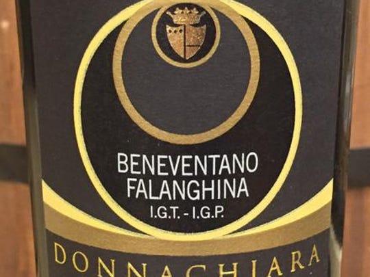 2013 Donnachiara Beneventano falanghina from Italy.