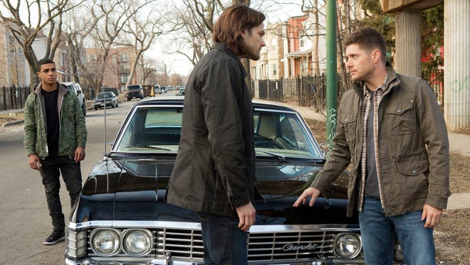 "Ennis Ross (Lucien Laviscount) meets demon-hunting brothers Sam (Jared Padalecki) and Dean (Jensen Ackles) in a new episode of The CW's ""Supernatural."""