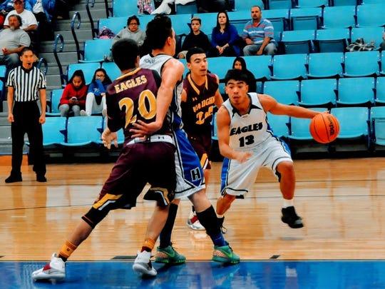 Antonio Vesquez, Hondo Valley High School