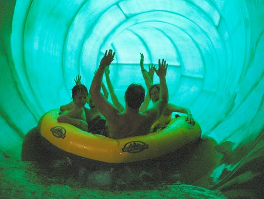 The Wild Water Dome in the Wilderness Resort in Wisconsin