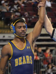 Carencro's Billy Clay reached the 170-pound semifinals with three wins on Friday in the Division II State Wrestling Tournament in Bossier City.
