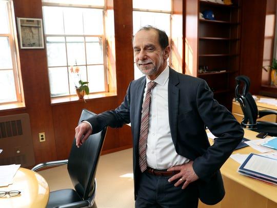 Richard Feldman, the interim president at the University