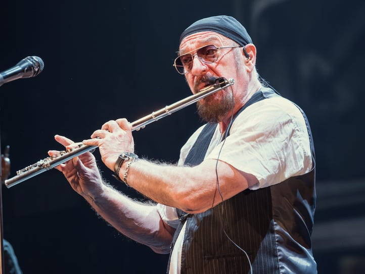 Ian Anderson and Jethro Tull will perform  May 5 at