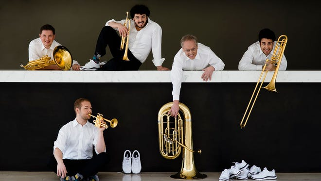 A humorous yet sophisticated mixture of tradition and contemporaneity is the signature style of Canadian Brass, who will perform on Thursday, Dec. 10 at Gretna Music.