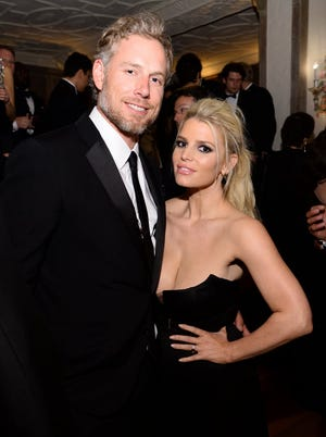 Jessica Simpson and Eric Johnson got married.