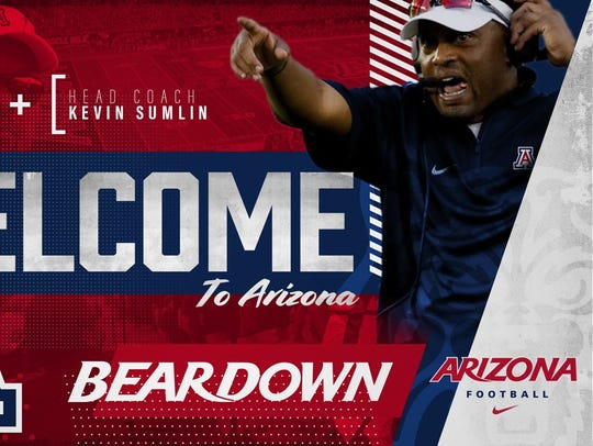 Kevin Sumlin is the new Arizona Wildcats head football