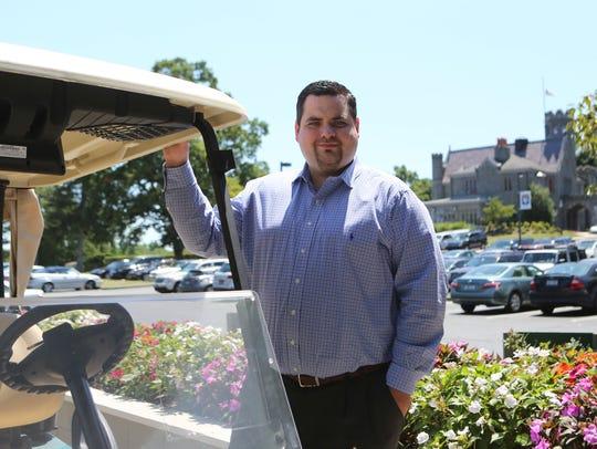 Jim Buonaiuto, general manager of Rye Golf Club, July
