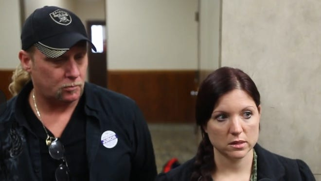 Jeff Capamaggio and Jennifer McGoff, jurors in the Charles Tan trial, speak about their experience after being dismissed Thursday.