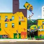 Exterior of the Crayola Experience store in Easton, Pennsylvania.