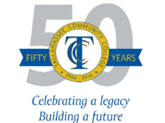 TCC's 50th logo