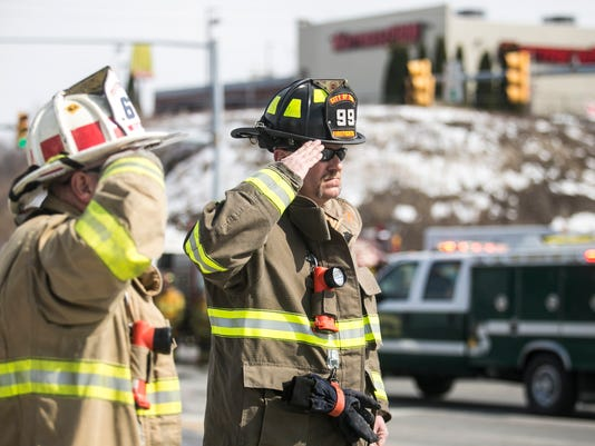 Lt. Dennis H. DeVoe Funeral Procession Saturday