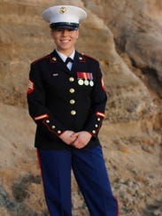 Sgt. Kaylie Coats is an active duty Marine stationed