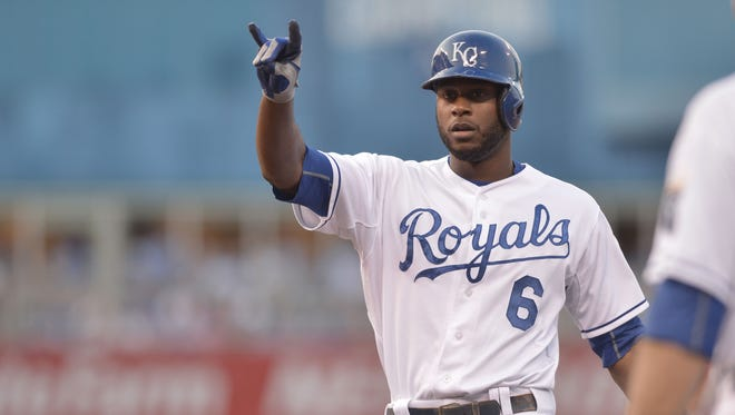 Lorenzo Cain batted .307 with 16 home runs this season.