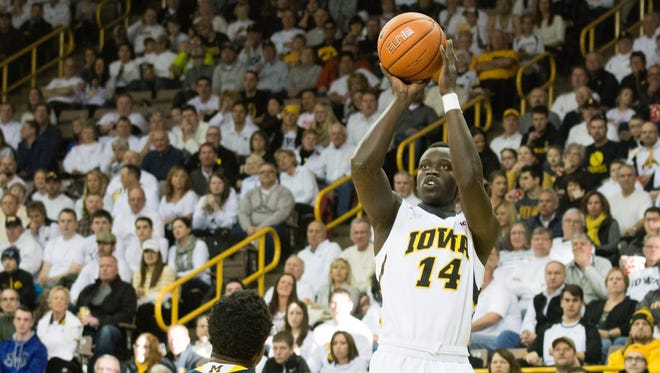 Peter Jok was named Big Ten player of the week after averaging 19.5 points (and shooting 14-for-24 from  the field, including 7-for-11 from 3-point range) in wins over Michigan State and Michigan. Jok also averaged 3.5 rebounds, 1.5 assists and 1.5 steals in those games.