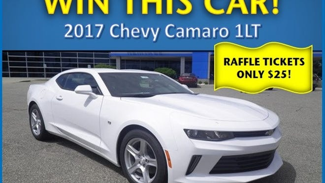 The Arc of Calhoun County is holding a fundraiser raffle where the winner will receive a 2017 Chevrolet Camaro.