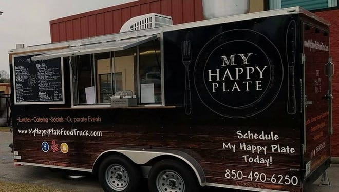 My Happy Plate Food Truck offers a wide variety of American and Asian dishes, as well as vegan and keto options.
