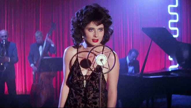 "Isabella Rossellini plays a troubled lounge singer in trouble in David Lynch's Wilmington-shot 1986 film, ""Blue Velvet."" It screens 8 p.m. Sept. 28-30 at the Skyline Drive-In Movies series."