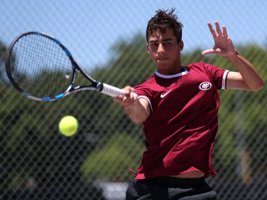 Chiles junior Josh Macri is the 2017 All-Big Bend Player of the Year for boys tennis after winning a city title at the No. 1 position, going undefeated locally and reaching the state tournament at No. 1 doubles.