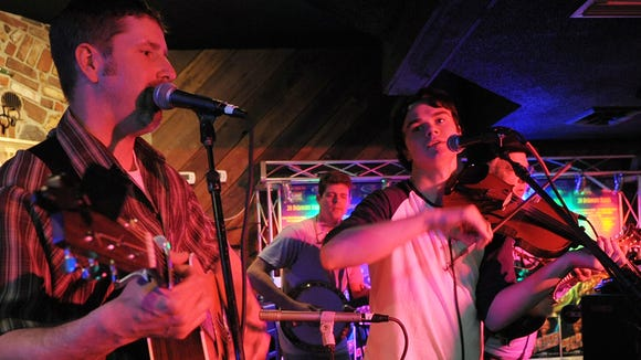 Scott Perlot (left) and Chapel Street Junction will perform at Milford's Brewgrass Festival this spring.