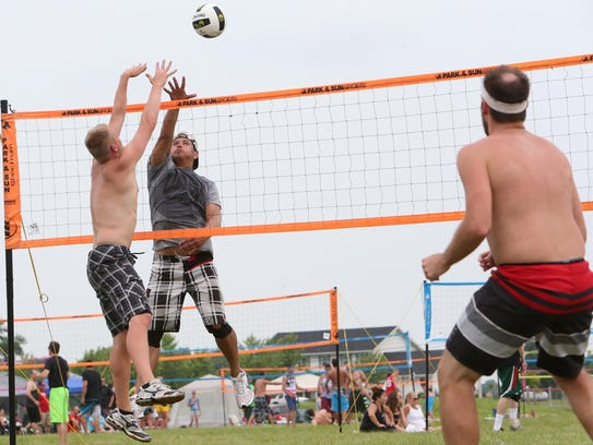 More than 100 teams competed last July in the Waupaca