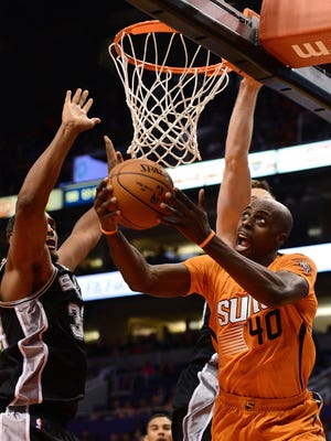 Phoenix Suns forward Anthony Tolliver.