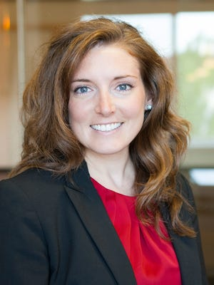 Andrea Woodward, public policy manager for the Greater Des Moines Partnership.