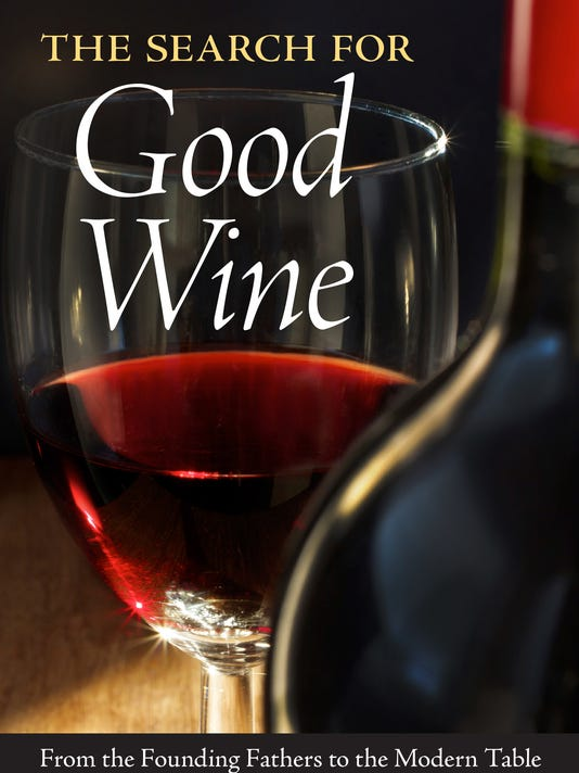 Search for Good Wine book jacket