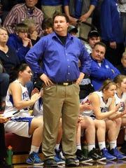 Fairfield head girls' coach Dustin Gordon